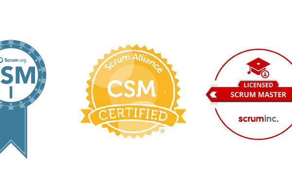 Scrum certificates exam badges png PSM CSM LSM professional certified licensed value insights