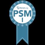 scrum.org PSM rpfessional srcum master badge transparent png logo