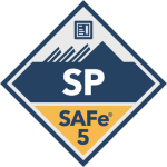 safe for teams practitioner SP scaled agile badge transparent logo png