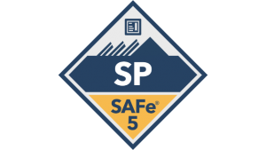safe for teams practitioner SP badge transparent logo png