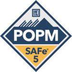 safe for PO PM product owners managers POPM badge sclaed agile transparent logo png