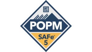 safe for POs/PMs product owners managersPOPM badge transparent logo png