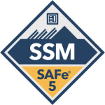 safe for scrum master ssm scaled agile badge transparent logo png