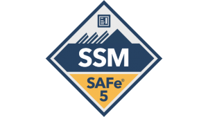 safe for scrum master ssm badge transparent logo png