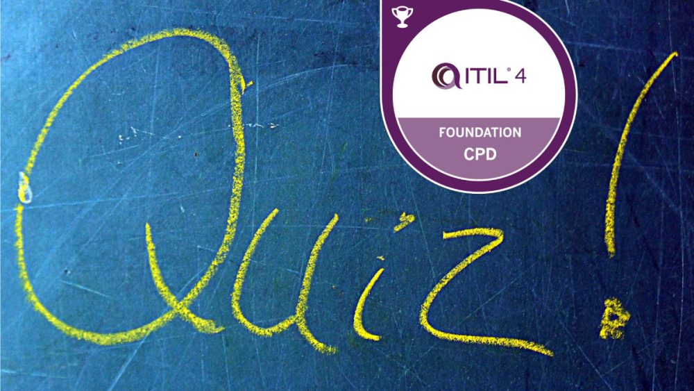 itil 4 foundation badge mock exam quiz questions answers value insights switzerland basel
