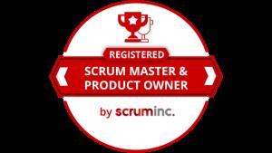 agile registered scrum master product owner badge logo png RSM training certification official value insights