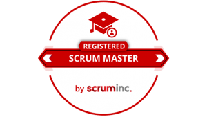 agile registered scrum master badge logo png RSM training certification official value insights
