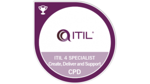 itil 4 cds create deliver support badge cpd transparent logo png