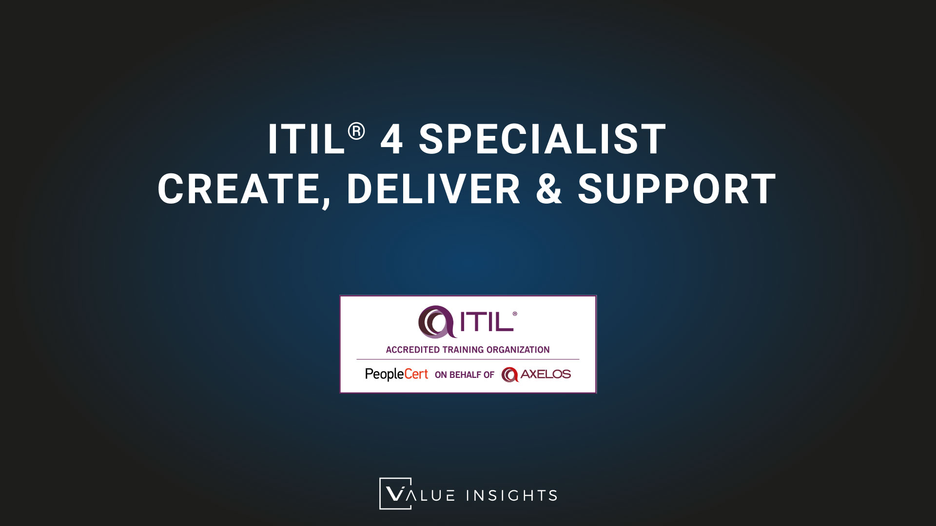 itil 4 specialist cds create deliver support badge cpd transparent logo png