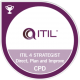 itil 4 strategist dpi direct plan and improve badge cpd transparent logo png