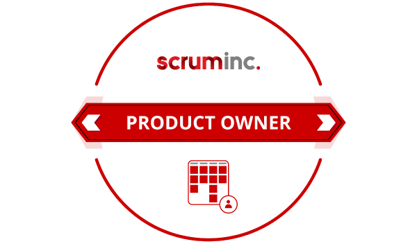 agile scrum inc product owner badge logo png LSM training certification official value insights