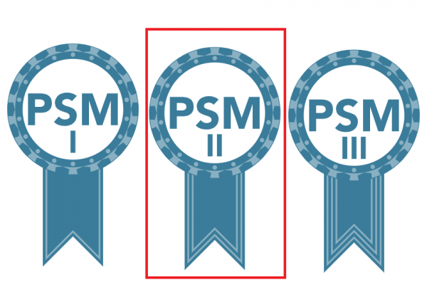 PSM I, PSM II and PSM III psm 2 professional scrum master switzerland scrum.org