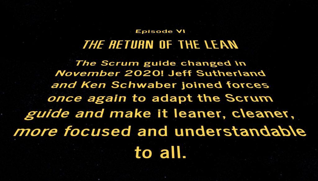 Scrum Guide (Star Wars theme)